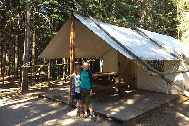 Moms' Comfort Camping Adventure at Sundance Lodges (Rockies Family Adventures)
