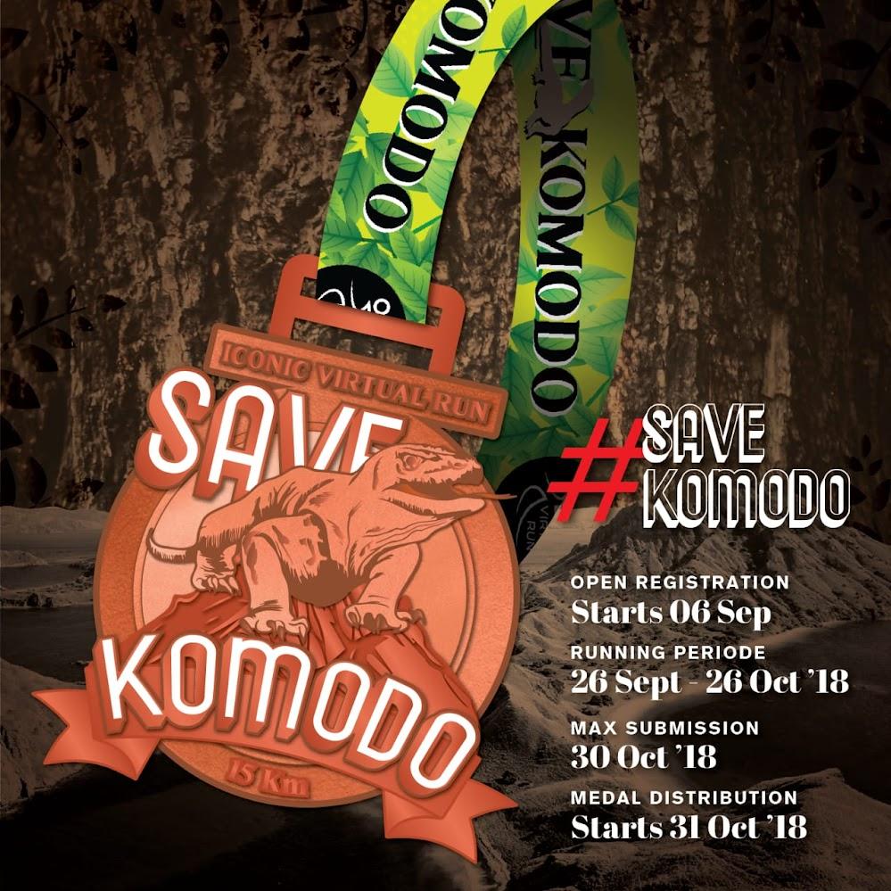 Iconic Virtual Run - Save Komodo • 2018