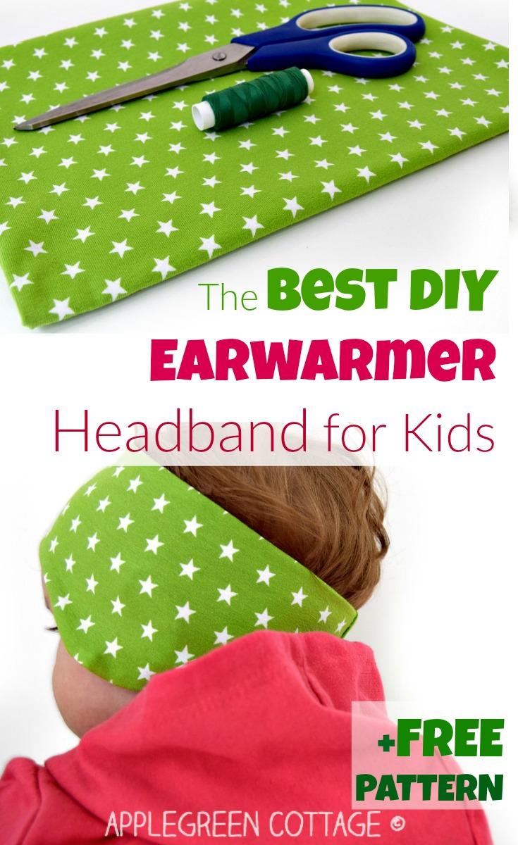 The Best Diy Ear Warmer Headband Applegreen Cottage