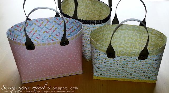 Handtasche-Designerpapier