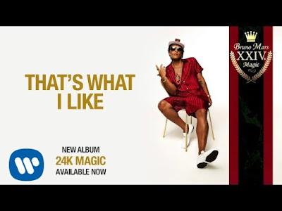 Arti Lirik Lagu That's What I Like - Bruno Mars
