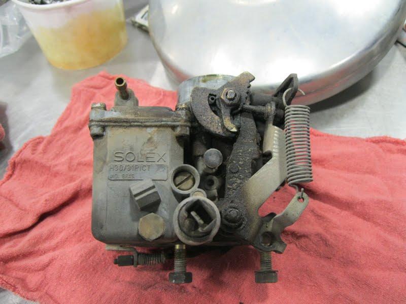 The Bug Boys: Rebuilding a Solex H 30/31 carb for the baja Part 1