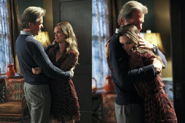 Hart of Dixie - Dr. Ethan Hart embraces his daughter Zoe