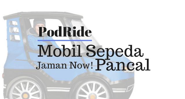 PodRide Mobil Sepeda Pancal