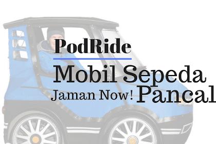 PodRide: Saya Kira Ini Mobil Mini Ternyata adalah Sepeda Pancal