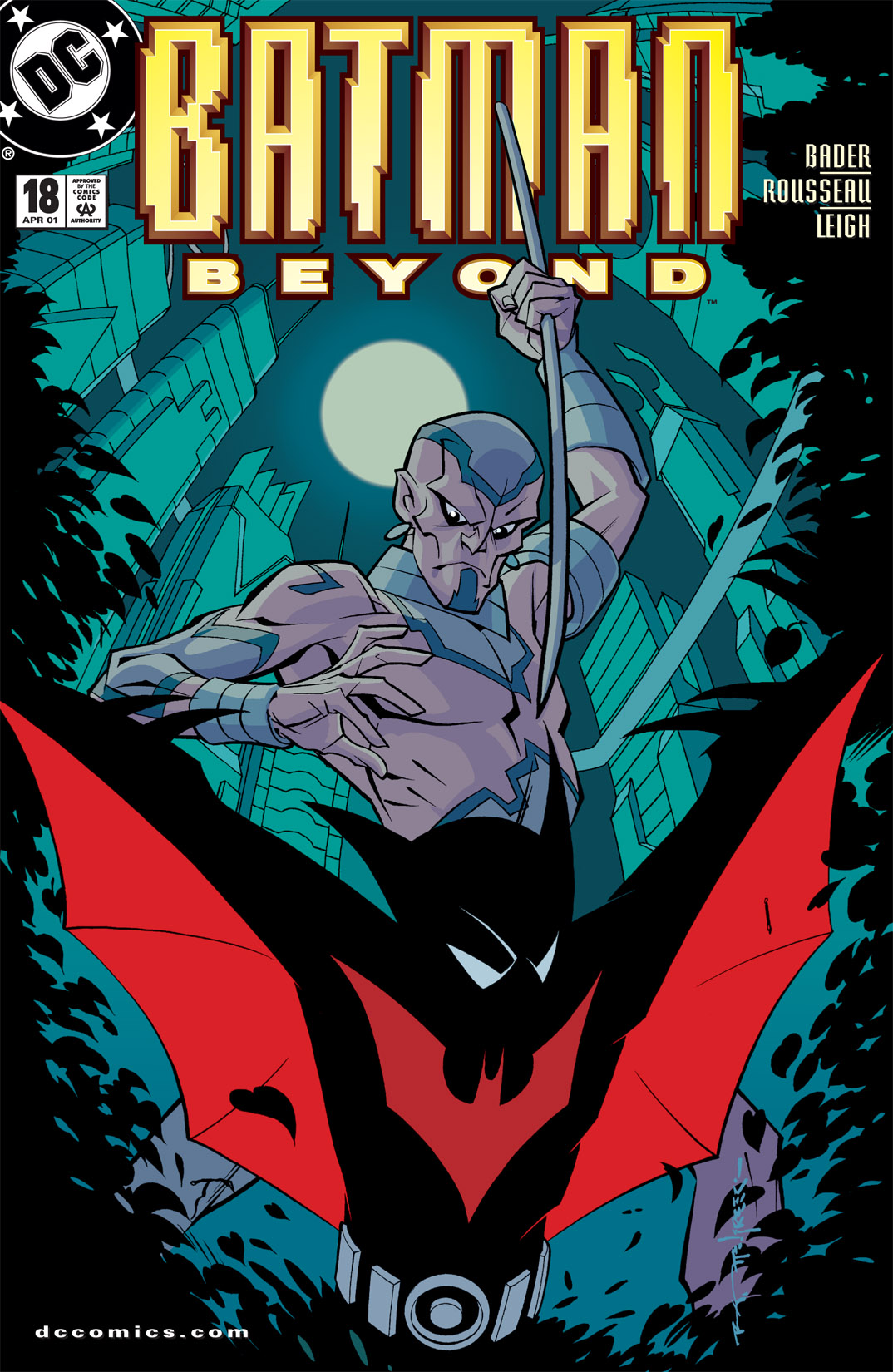 Batman Beyond [II] 18 Page 1