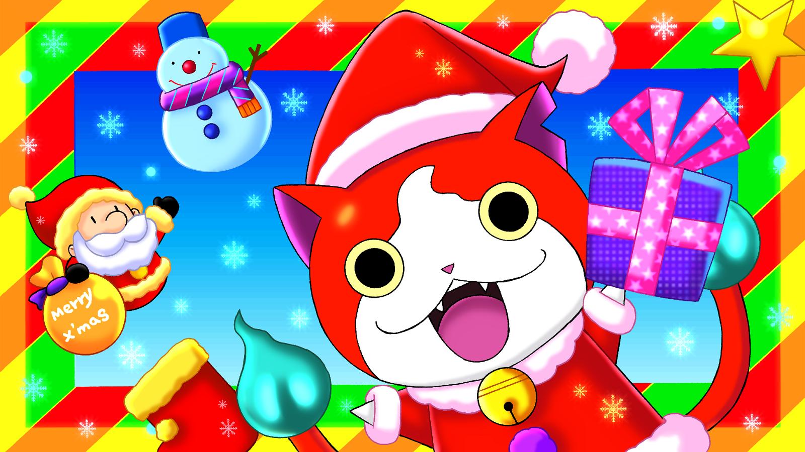プラムのアトリエ 2014年 妖怪ウォッチ クリスマス ジバニャン サンタ