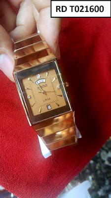 Đồng hồ Rado dây đá ceramic vàng RD T021600
