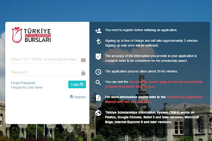 Review Aplikasi Pendaftaran Beasiswa YTB Turki (Update 2019)
