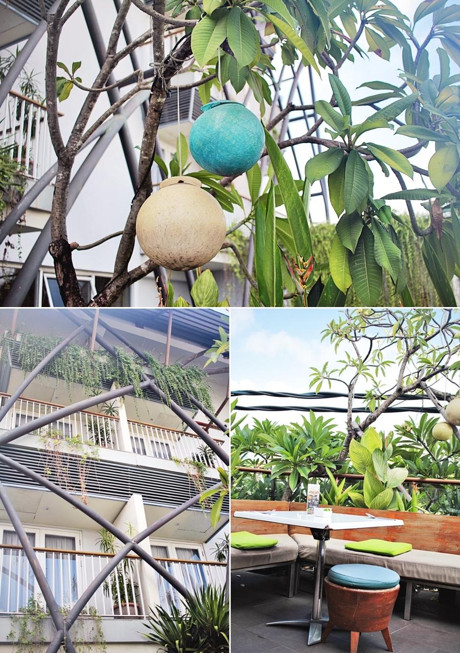 garden terracce balcony loacation bali indonesia hotel