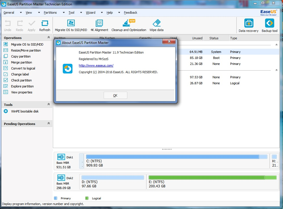 easeus partition master 10.5 serial number generator