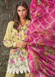 MAHGUL LUXURY LAWN BY ALZOHAIB TEXTILE