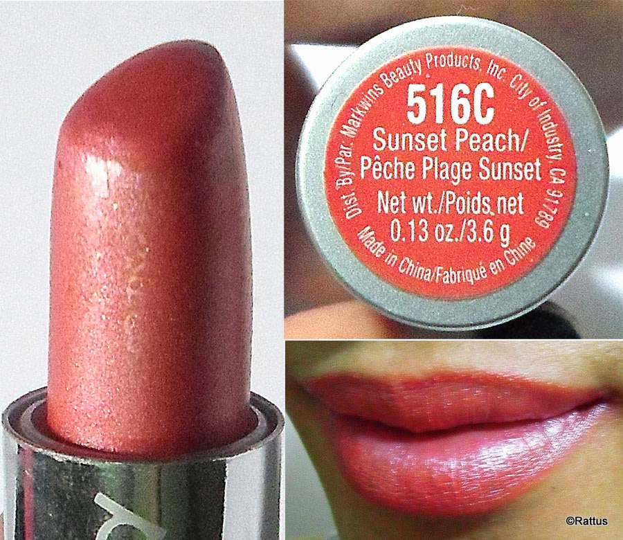Wet N Wild Silk Finish Lipstick Lady Rattus