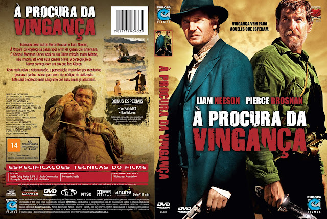 Capa DVD À Procura da Vingança