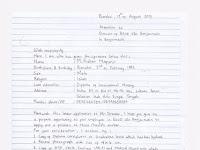 Contoh Surat Lamaran Kerja Tulis Tangan Terbaru