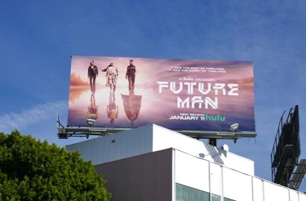 Future Man season 2 billboard