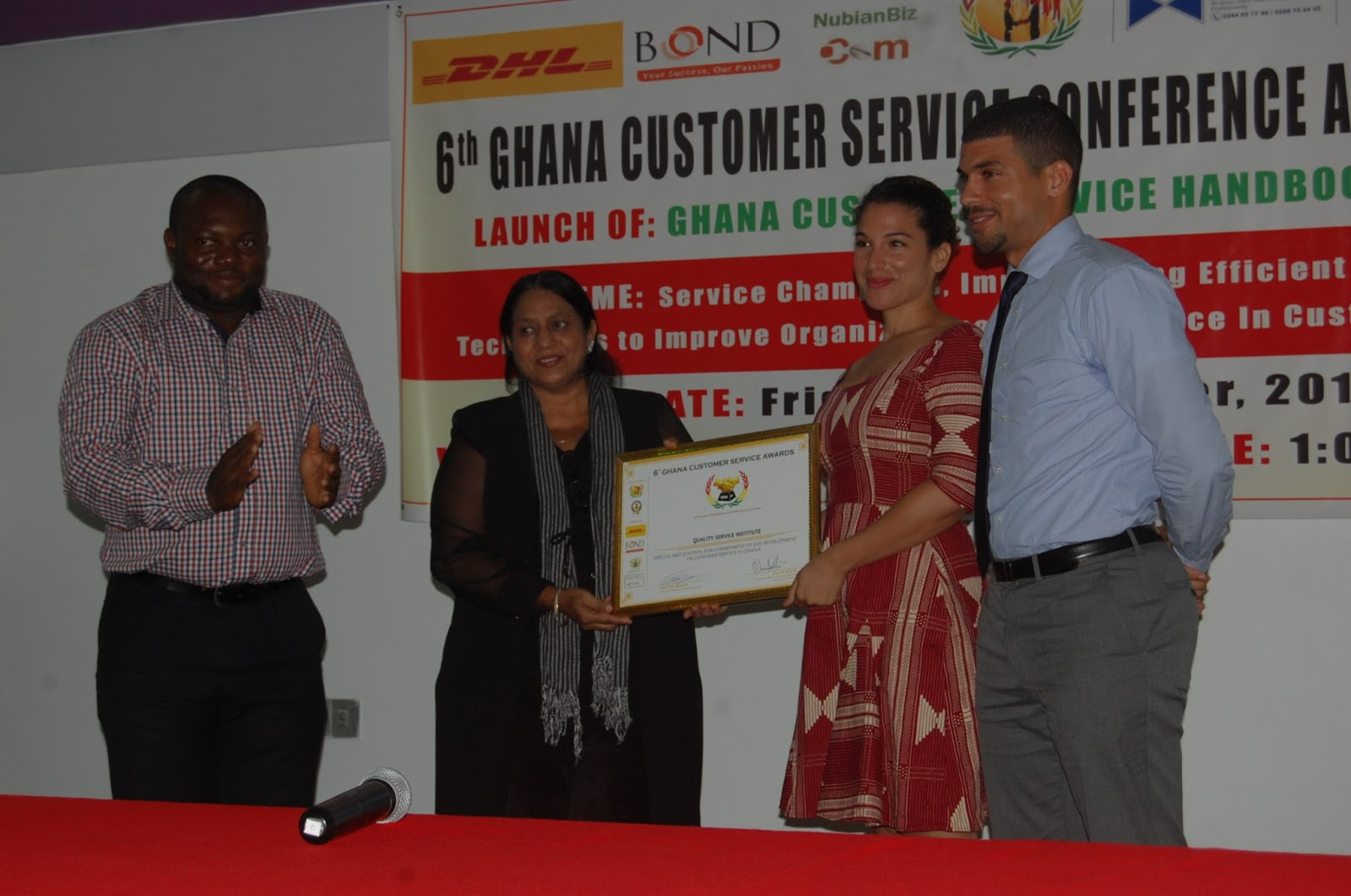 thesis on customer service in ghana The results indicated that there was a certain relationship between service quality and customer satisfaction based on different cultural background in addition, service quality had significantly impacts on customer satisfac.