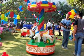 Sewa Carousel Mini di Jakarta