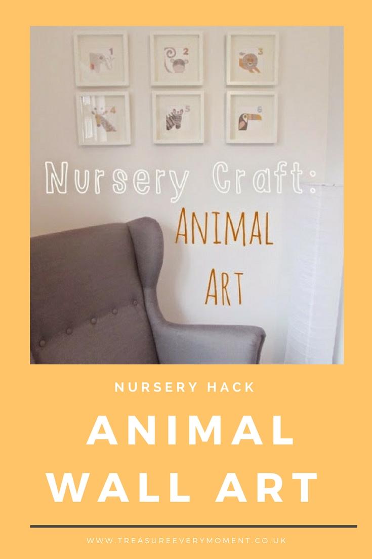 NURSERY HACK: Animal Wall Art