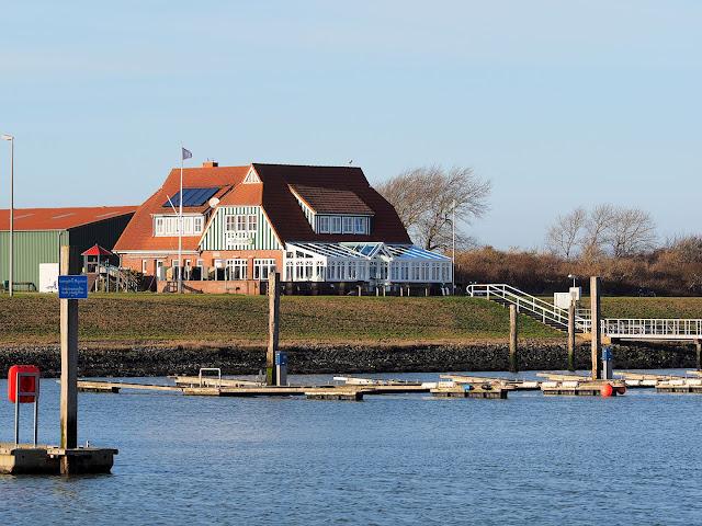 Langeoog, Hafen, Kajüte, Restaurant