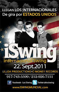 , iSwing Itinerario USA 2011