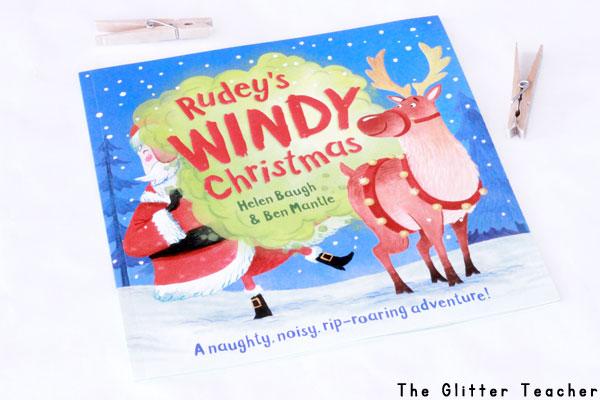 """Descripción, review y recursos para trabajar el cuento navideño en inglés """"Rudey's Windy Christmas"""""""
