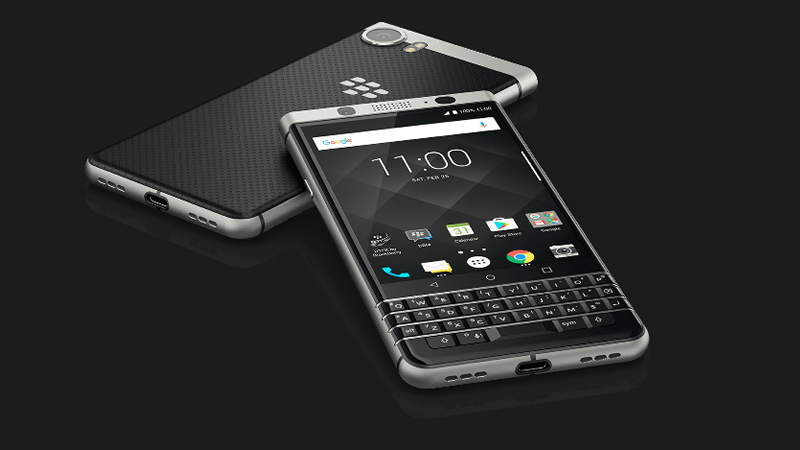 BlackBerry® KEYone is a powerful Android smartphone powered by Android™ OS, v7.1 (Nougat)
