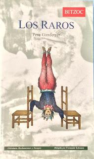 Los raros / Pere Gimferrer
