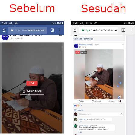 Cara Melihat Siaran Langsung di Facebook Lewat Hp