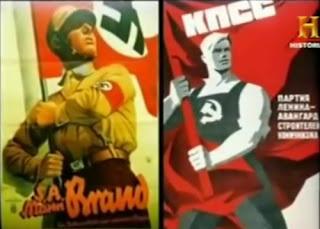 Propaganda Nazi. Propaganda Soviética