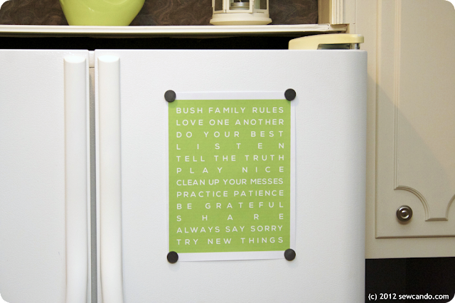 Personalized Kitchen Signs For Home