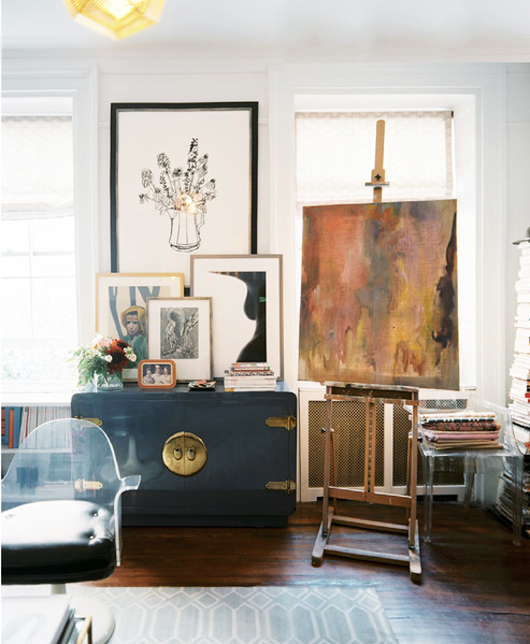 Sinclair Apartments: Mary Nelson Sinclair A Painter In Her Manhattan Apartment