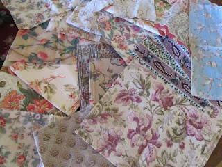 Antique Fabrics at our Vintageblessings store