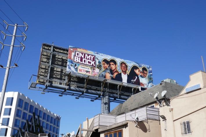 On My Block Netflix season 2 billboard