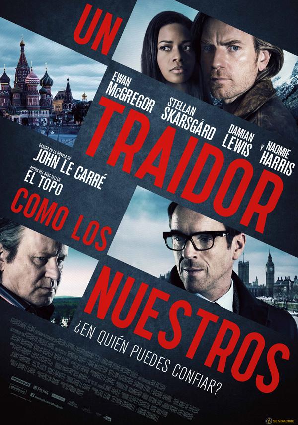 UN TRAIDOR COMO LOS NUESTROS cartel español