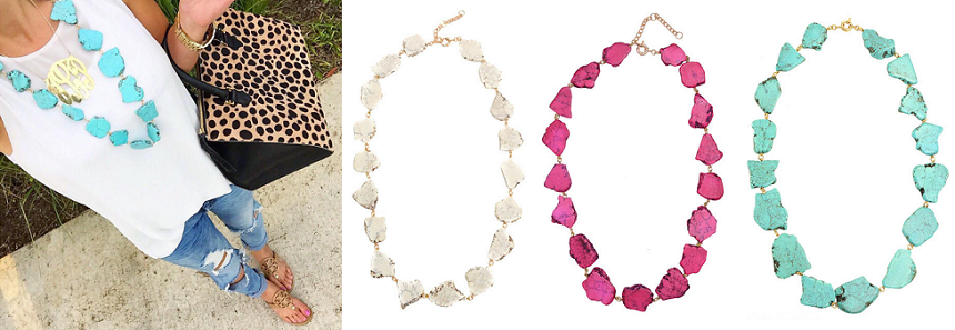 Purple Peridot: Rivulet Necklaces only $25 (reg $42) + Free Shipping!