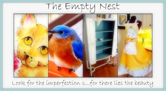 The Empty Nest: ~ The Empty Nest is Featured in Romantic Homes! ~