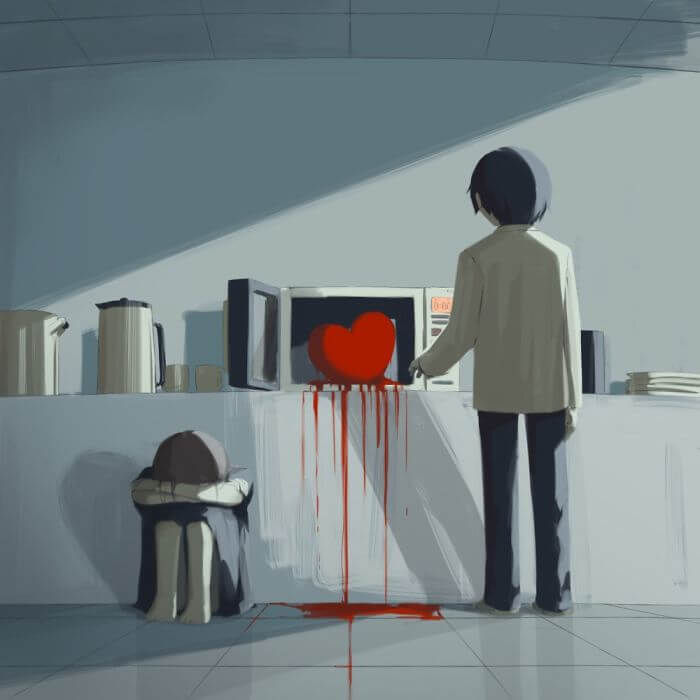 Thought-Provoking Illustrations By Japanese Artist That Changed Our Perspective