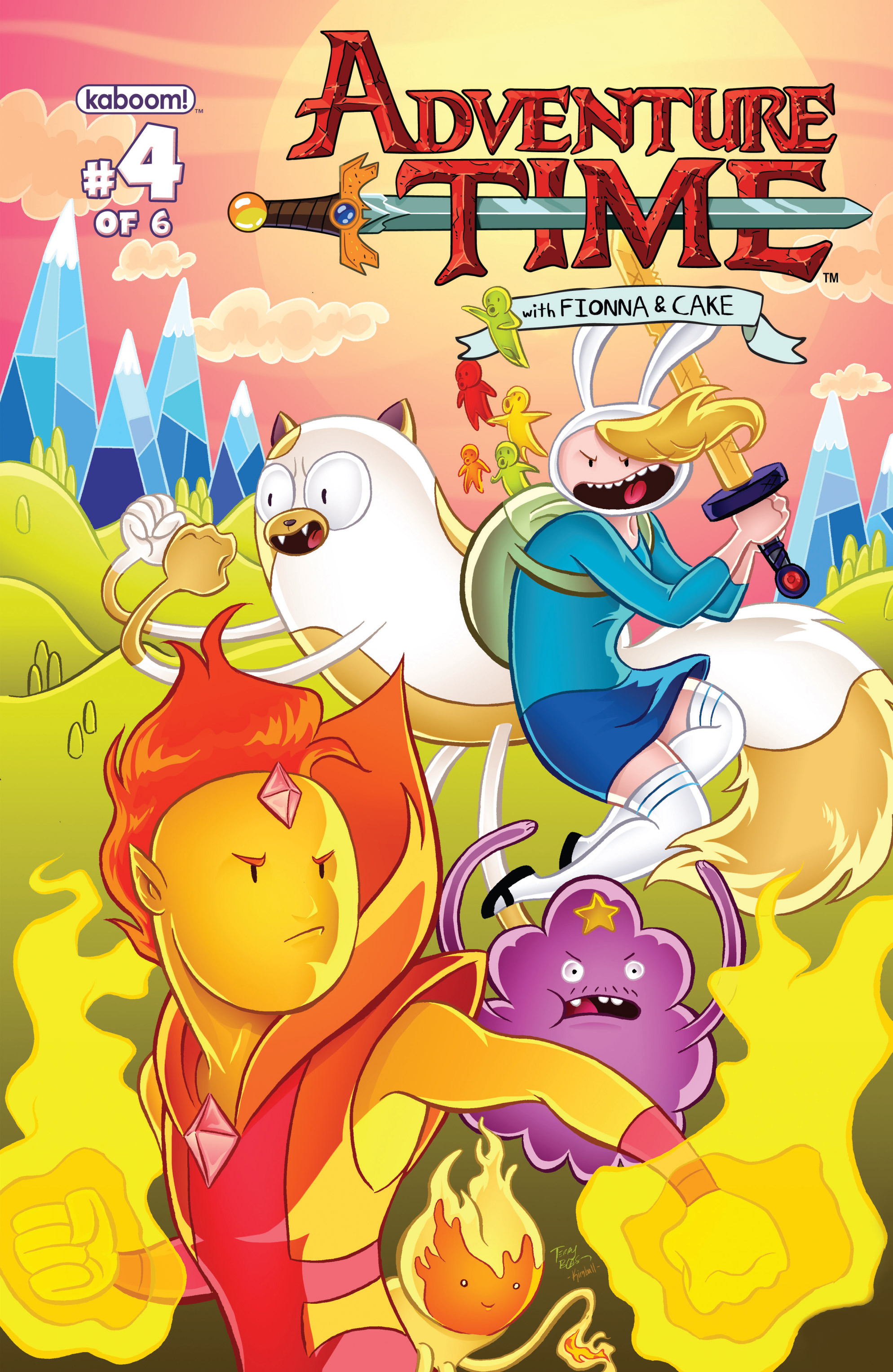 Read online Adventure Time with Fionna & Cake comic -  Issue #4 - 2