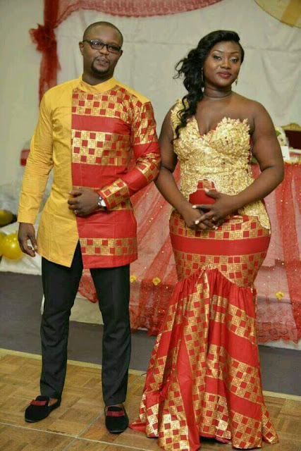 Alluring African Fashion Ankara Styles For Couples