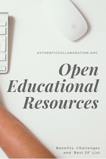 Open Educational Resources: Benefits, Challenges and 'Best Of' List from authenticcollaboration.org #OER #education #free