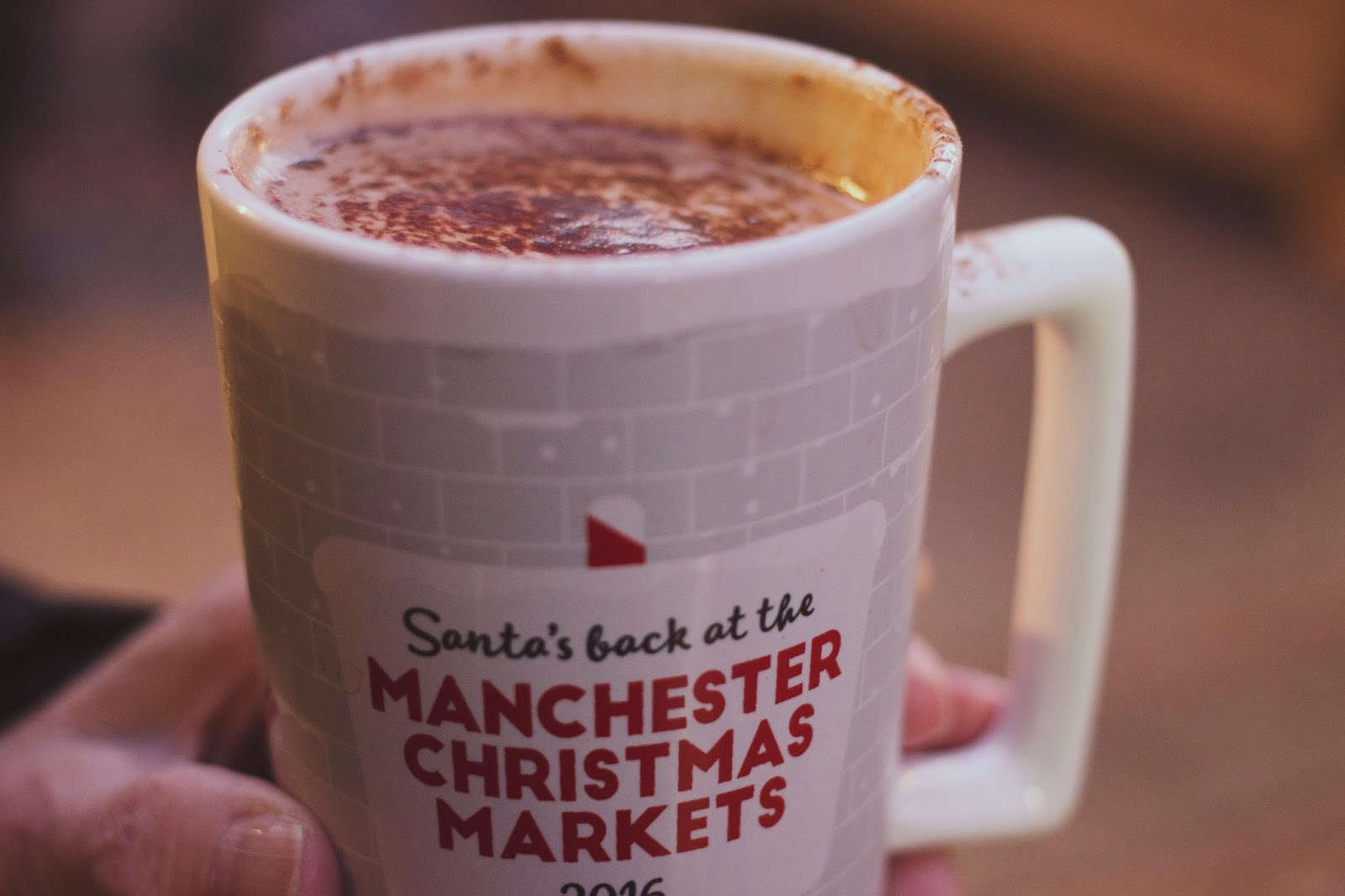 Manchester Christmas Markets 2016, Hot Chocolate, Manchester Bloggers, Katie Writes,