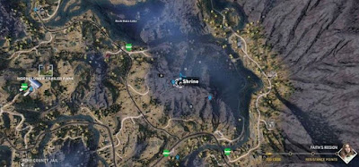 Far Cry 5, Shrines Locations, Faith's Region, East, Moonflower Trailer Park