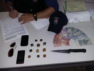 Indivíduo rouba padaria duas vezes no mesmo dia e é detido pela Guarda Civil Municipal de Vitória (ES).