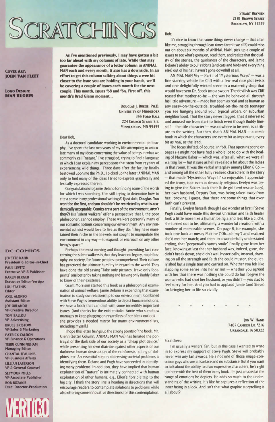 Read online Animal Man (1988) comic -  Issue #75 - 26