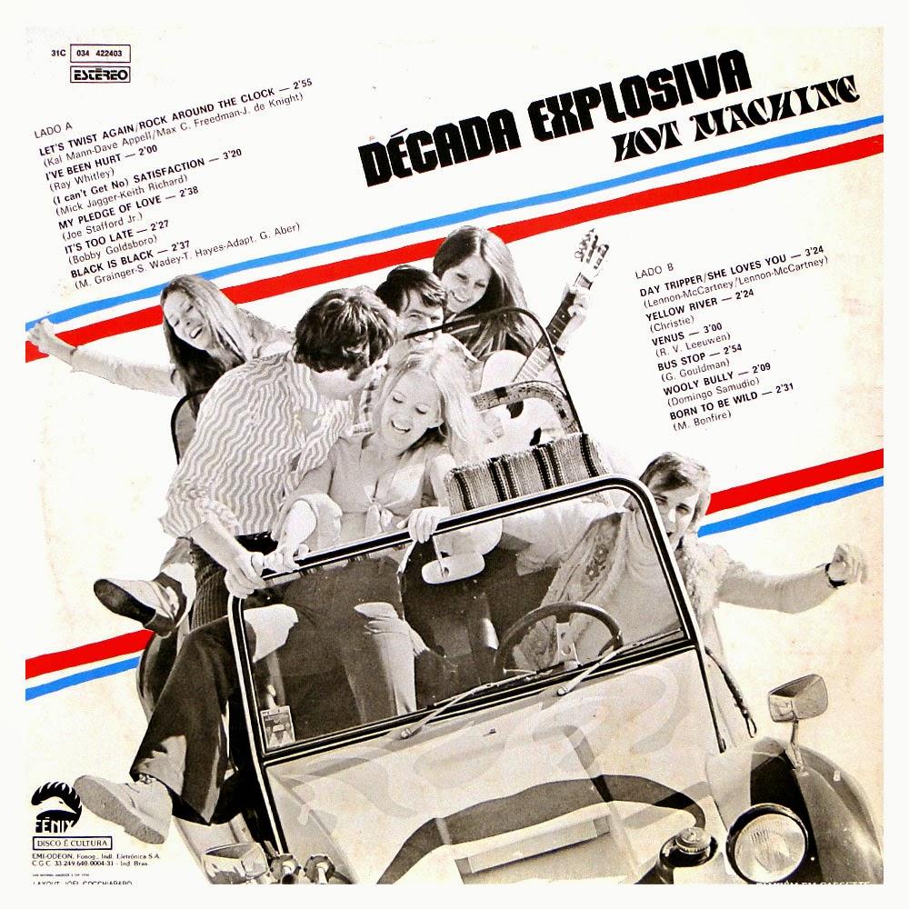 GRATIS HOT MACHINE CD BAIXAR DECADA DE EXPLOSIVA