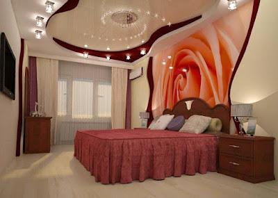 Двухуровневый натяжной потолок - фото дизайна - Курганинск