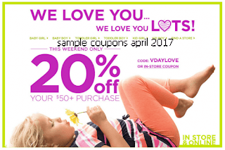 OshKosh B'gosh coupons april 2017