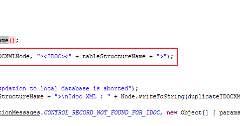 Better, Faster and Smarter development: SAP IDOC Issue - Not