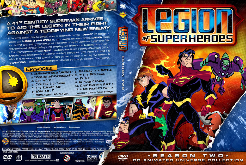 legion de superheroes temporada 2 latino